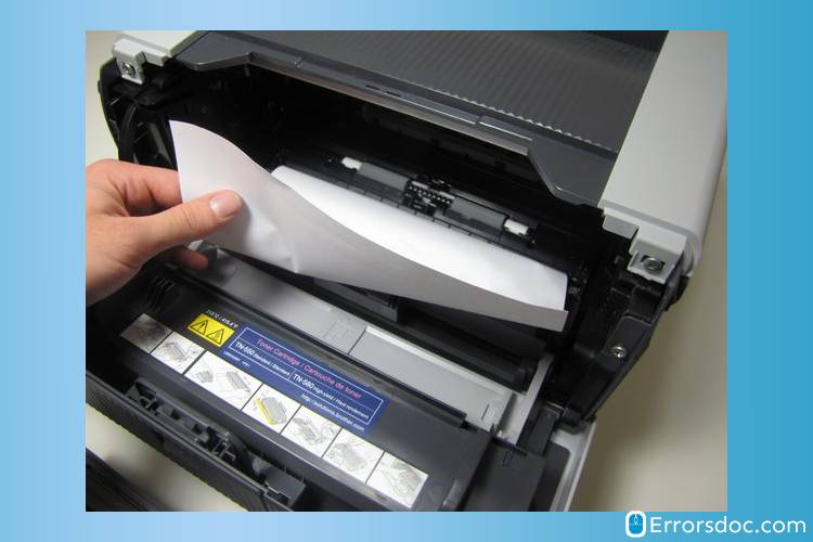 How To Fix Brother Printer Paper Jam Error