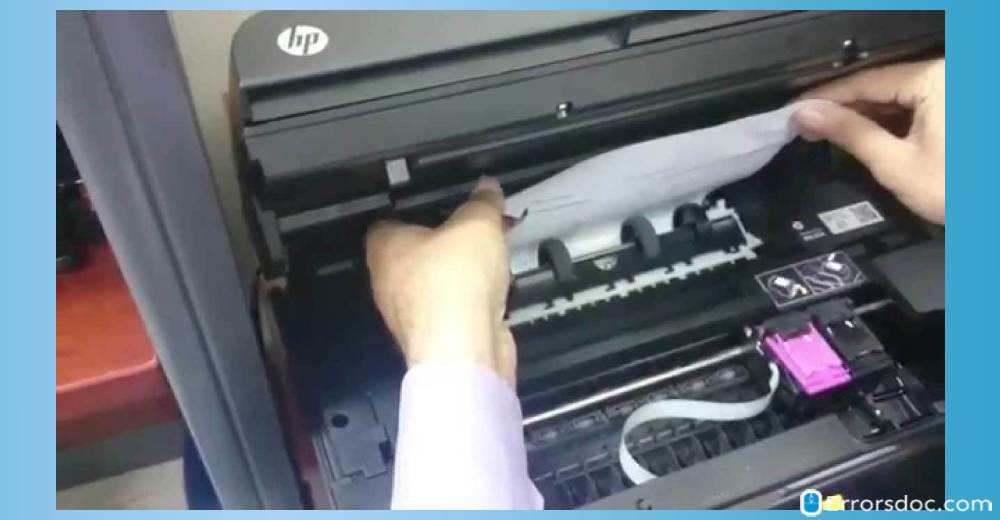 How To Fix HP Printer Paper Jam Error But No Paper Jam?
