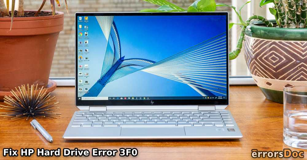 Fix HP Hard Drive Error 3F0