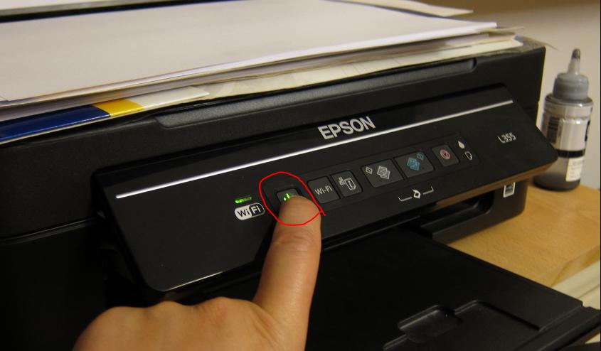 Turn off - epson wf 3620 error code 0x97