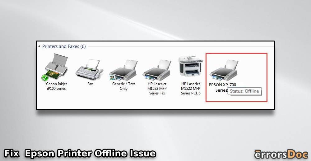 Epson Printer Offline: How to Troubleshoot on Windows 10 , 8, 8.1 & 7 and Mac